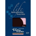 Life Application Study Bible KJV, Personal Size TuTone