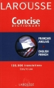 Larousse Concise Dictionary: French-English/English-French (French Edition)