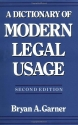 A Dictionary of Modern Legal Usage (Oxf...