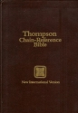 Thompson Chain-Reference Bible NIV Hardcover Indexed