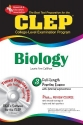 CLEP Biology (REA) with CD-ROM - The Best Test Prep for the CLEP Exam: with REA's TESTware (Test Preps)