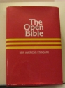 New American Standard Bible - The Open Bible Edition - Words of Christ in Red