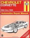 Chevrolet Corvette 1984 thru 1996 Automotive Repair Manual