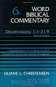 Word Biblical Commentary Vol. 6a, Deuteronomy 1-21:9 (revised & Expanded),  (christensen), 592pp