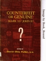 Counterfeit or Genuine