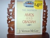 The Prophets - Amos and Obadiah