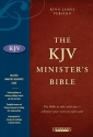 Holy Bible: King James Version Minister's, Black, Genuine Leather