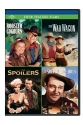 Rooster Cogburn / The War Wagon / The Spoilers  / Shepherd of the Hills Four Feature Films