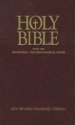 Holy Bible with the Apocryphal / Deuterocanonical Books [New Revised Standard Version (NSRV)]