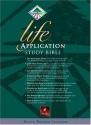 Life Application Study Bible: New Living Translation Black Bonded Leather (Thumb Index)