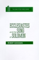 Ecclesiastes and the Song of Solomon (Daily Study Bible (Westminster Hardcover))