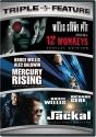 12 Monkeys / Mercury Rising / The Jackal