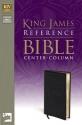 KJV, Reference Bible, Imitation Leather, Black