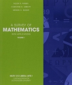 A Survey of Mathematics with Applications Volume I (Math 1313 Liberal Arts I, Custom Edition for Southeasthern University)