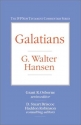 Galatians (IVP New Testament Commentary Series)