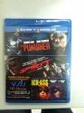 3 Blu-Ray Movie Collection The Punisher, The Spirit, Kick-Ass