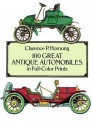 100 Great Antique Automobiles in Full-Color Prints (Dover Fine Art, History of Art)