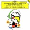 Prokofiev: Classical Symphony / Bizet: Symphony in C / Britten: Simple Symphony