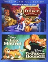Disney Three Movie Collection: Oliver and Company / The Fox and Hound / The Fox and the Hound II