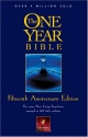 The One Year Bible Fifteenth Anniversary Edition NLT
