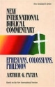 Ephesians, Colossians, Philemon (New International Biblical Commentary, 10)