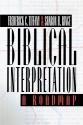 Biblical Interpretation: A Roadmap