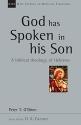 God Has Spoken in His Son (New Studies in Biblical Theology)