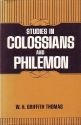 Studies in Colossians and Philemon