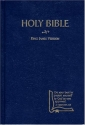 KJV Drill Bible, Blue Hardcover (King James Version)