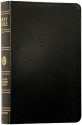 ESV Classic Reference Bible, Premium Bonded Leather, Black, Red Letter Text