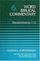 Deuteronomy 1 (Word Biblical Commentary)