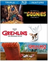 Goonies, The / Gremlins / Gremlins 2: The New Batch  (3FE) [Blu-ray]