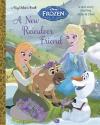 A New Reindeer Friend (Disney Frozen) (Big Golden Book)