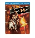 The Mummy   (Steelbook) (Blu-ray + DVD + Digital Copy + UltraViolet)