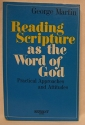 Reading scripture as the Word of God