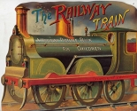 The railway train: A holiday picture book for children