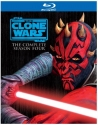 Star Wars: The Clone Wars - Season 4 [Blu-ray]