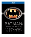 Batman: The Motion Picture Anthology, 1989-1997  [Blu-ray]