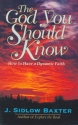 The God You Should Know