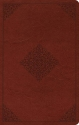 ESV Large Print Value Thinline Bible (TruTone, Tan, Ornament Design)