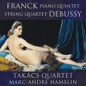 Franck: Piano Quintet; Debussy: String Quartet