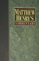 MATTHEW HENRY'S COMMENTARY / Volume 3 (Commentary On The Whole Bible/ Volume 3 Only; Job to Son...