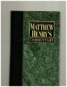 Matthew Henry Commentary - Matthew to John Volume 5 (1991 Copy)