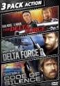 Delta Force / Delta Force 2 / Code Of Silence starring Chuck Norris