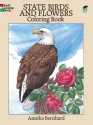 State Birds and Flowers Coloring Book (Dover Pictorial Archive Series)