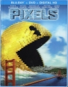 Pixels: Limited Edition Exclusive Lenticular Cover  [Blu-Ray, DVD + Digital HD]