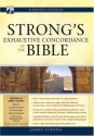 Strong's Exhaustive Concordance of the Bible [With CDROM]