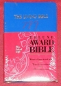 The Living Bible Deluxe Award Edition /Blue Leather/3710