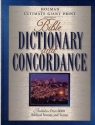 Holman Ultimate Giant Print Bible Dictionary and Concordance