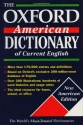 The Oxford American Dictionary of Current English (New Look for Oxford Dictionaries)